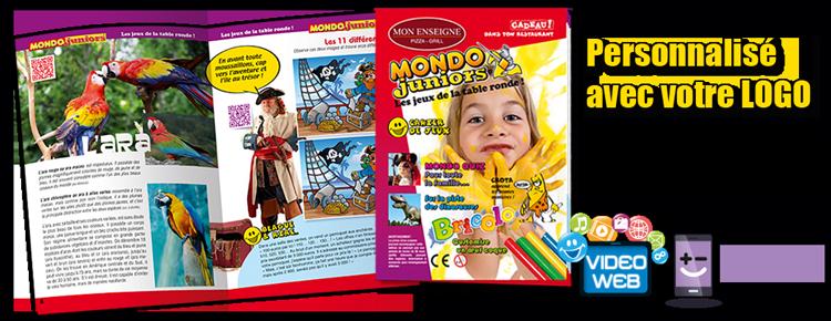 Coloriage, jouet pour menu enfant
