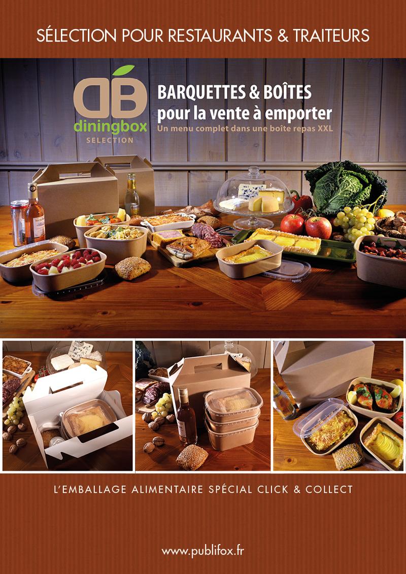 Emballage alimentaire - Vente à emporter