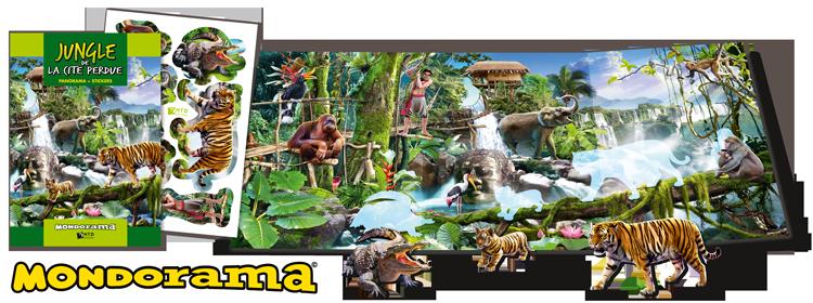 Panorama jungle, produit d'accueil pas cher