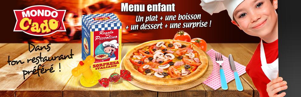 Cadeau enfant pour pizzeria