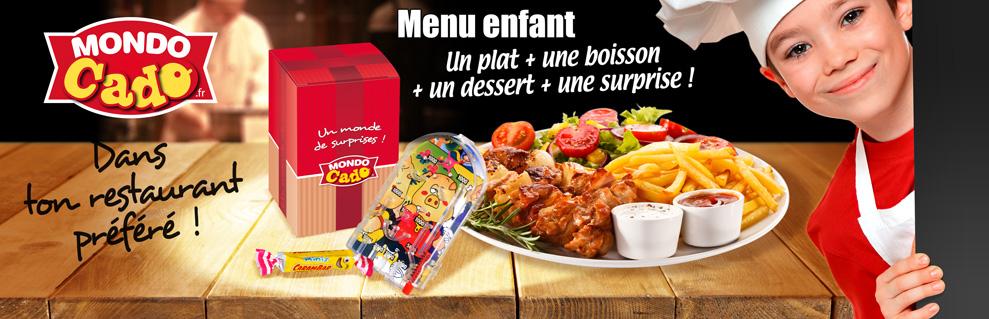 Jouet pour menu enfant restaurant