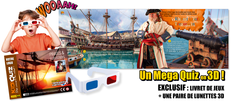 Anaglyphes : Pirates et flibustiers