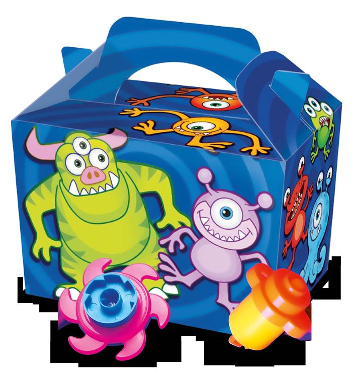 Boite menu enfant Aliens + jouet surprise