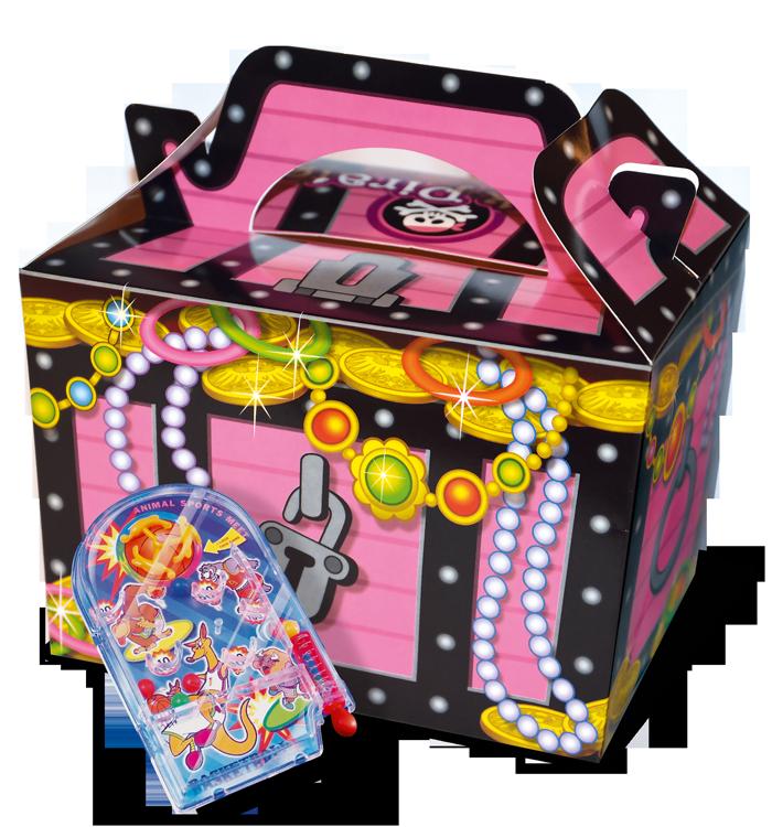 Boite menu fille Pink Pirates + jouet surprise